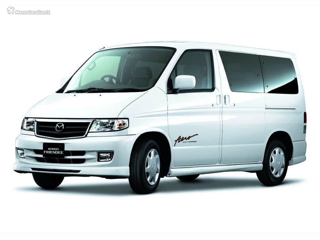 Mazda Bongo Friendee I Minivan Modifications