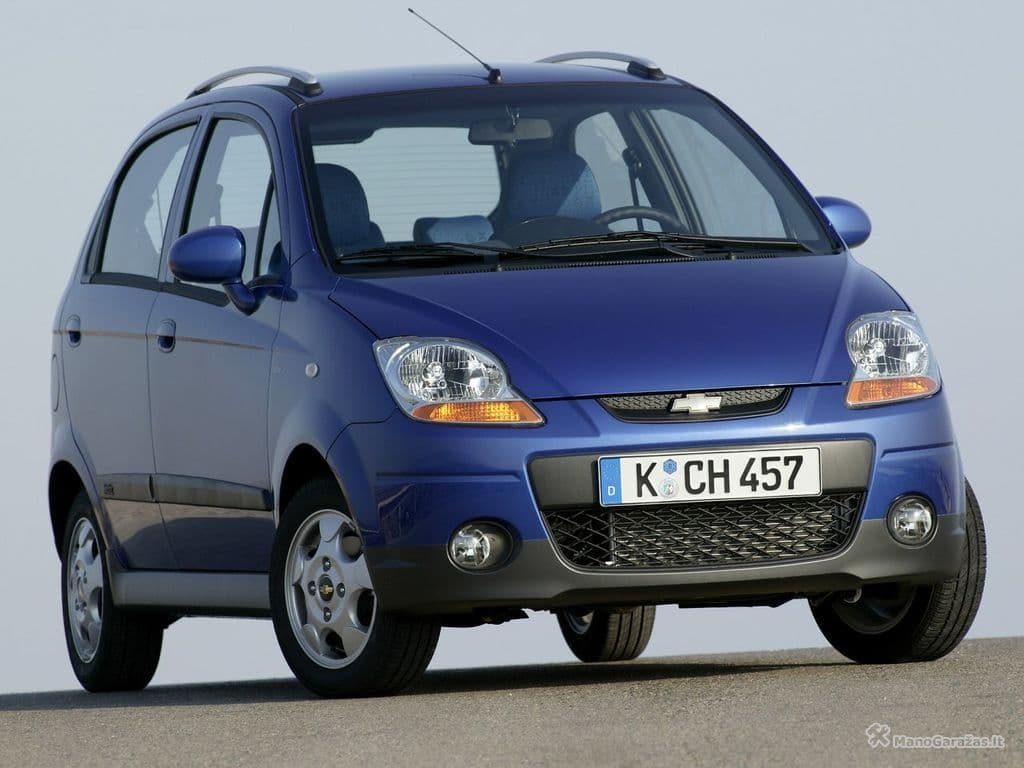 Chevrolet Matiz Ii 0 8 At 52 Hp Specifications And Technical Data